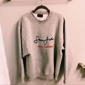Sean John Denim Collection Gray Sweater